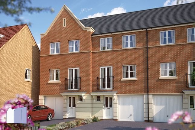 "Thumbnail Terraced house for sale in ""The Latimer"" at Manorville Road, Hemel Hempstead"