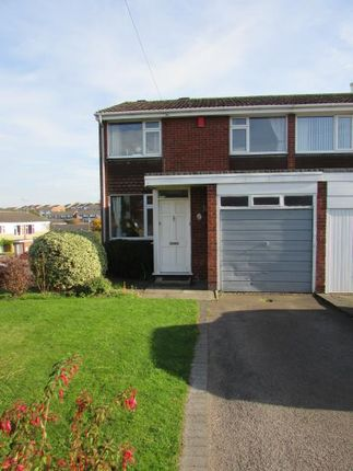 Thumbnail Semi-detached house to rent in Cornwallis Road, Rugby