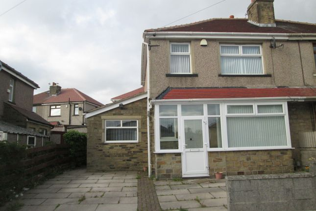 Thumbnail Semi-detached house to rent in Wrose Road, Shipley, West Yorkshire