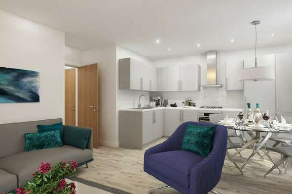Thumbnail Flat for sale in Slough, Berkshire