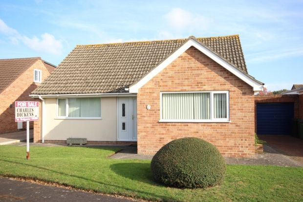 Thumbnail Detached bungalow for sale in Andersfield Close, Bridgwater