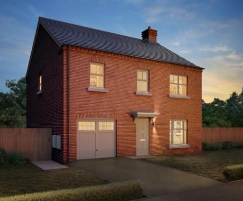 Thumbnail Detached house for sale in Temptation, Reservior Road, Burton On Trent