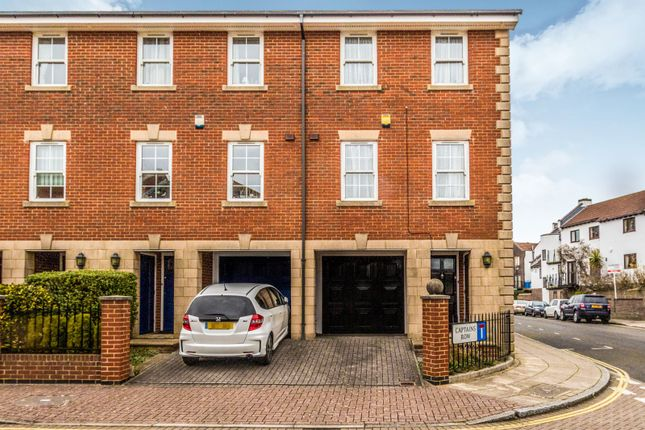 Thumbnail End terrace house to rent in Captains Row, Portsmouth
