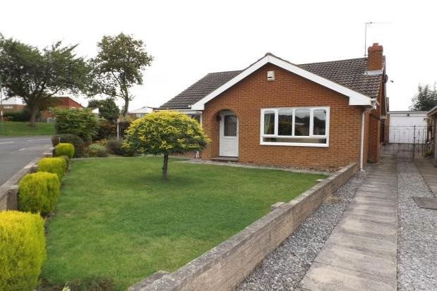 Thumbnail Bungalow to rent in Grangewood Road, Wollaton, Nottingham