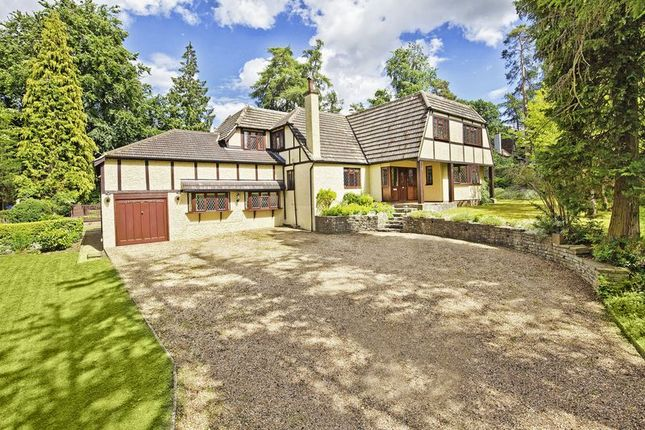 Thumbnail Detached house for sale in Oaklands, Welwyn, Herts