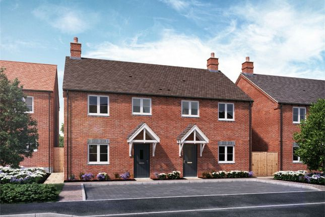 Thumbnail Semi-detached house for sale in Midsummer Vale, Aubries, Walkern