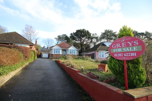 Thumbnail Detached bungalow for sale in Moorland Crescent, Upton, Poole