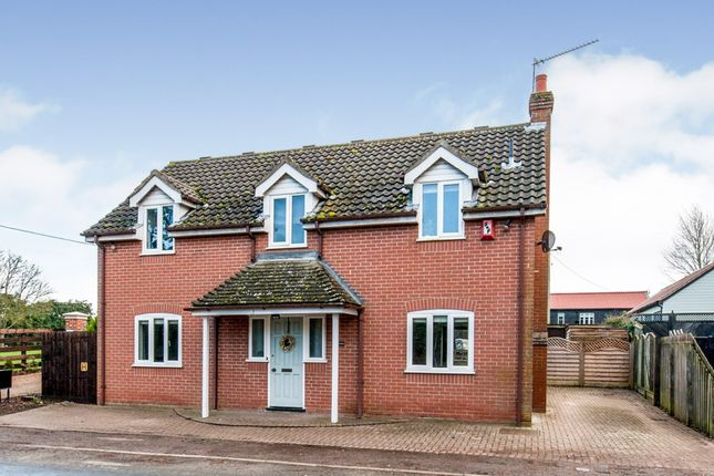 Thumbnail Detached house for sale in Great Ashfield, Bury St. Edmunds, Suffolk