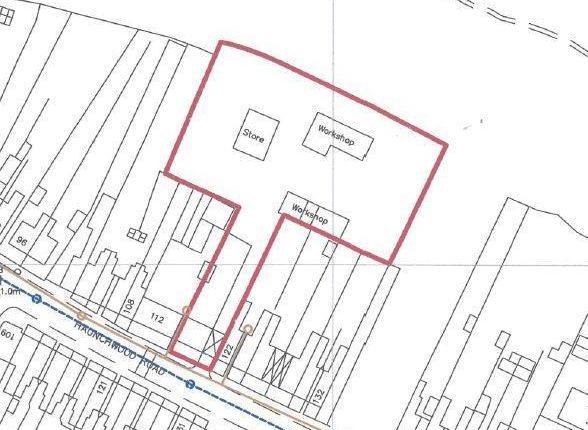 Thumbnail Land for sale in 116-120, Haunchwood Road, Nuneaton