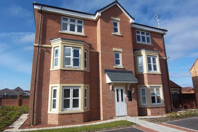 Thumbnail Flat to rent in Parkside House, Sandringham Meadows, Blyth