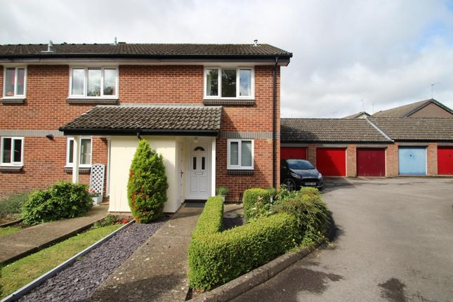Thumbnail End terrace house for sale in Benetfeld Road, Binfield