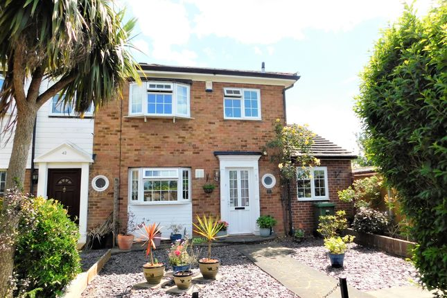 Thumbnail End terrace house for sale in Garrick Close, Staines