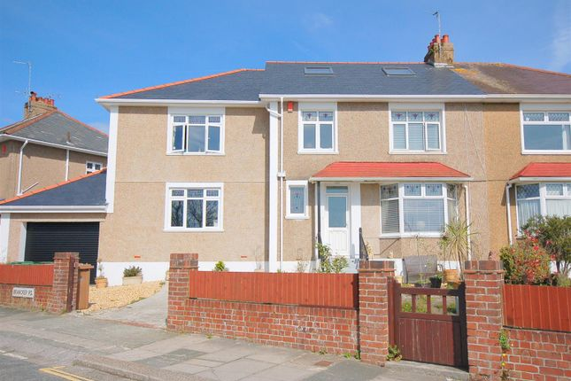 Thumbnail Semi-detached house for sale in Segrave Road, Plymouth