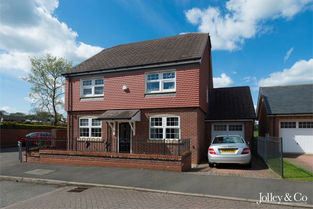 Thumbnail Detached house for sale in 1 Whittaker Close, Congleton, Cheshire