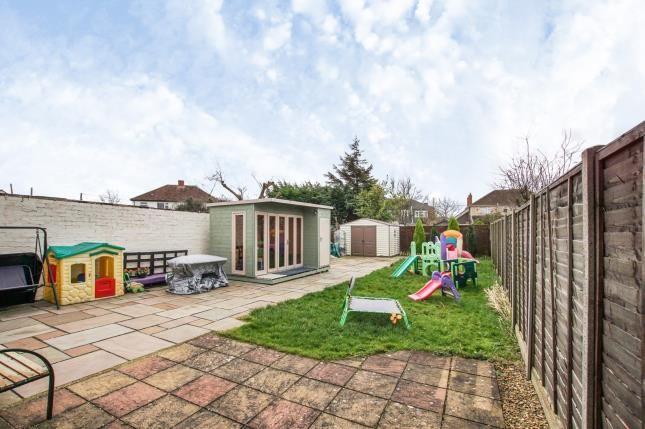 Garden of Moorpark Avenue, Yate, Bristol, South Gloucestershire BS37
