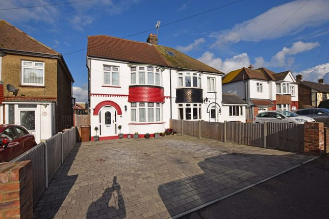 Thumbnail Semi-detached house for sale in Begonia Avenue, Rainham