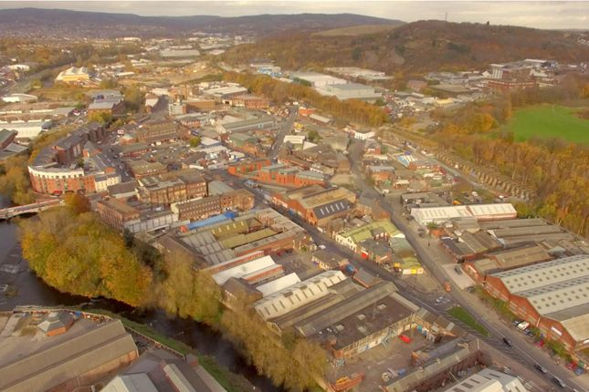 Kelham Aerial of Cornwall Works, Kelham Island, Sheffield S3