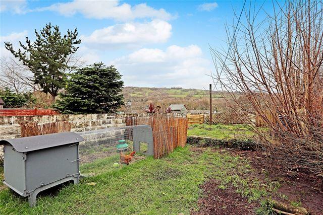 Rear Garden of Long Row, Treforest, Pontypridd CF37