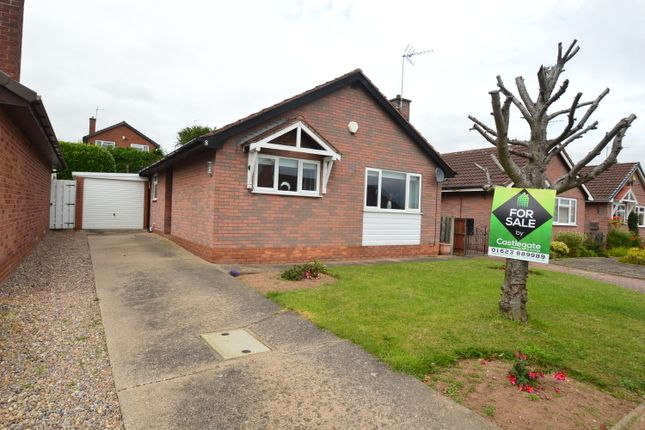 Thumbnail Detached bungalow for sale in Jeacock Drive, Rainworth