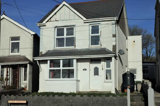 Thumbnail Detached house for sale in Tredawel, Heol Caegwyn, Drefach, Llanelli