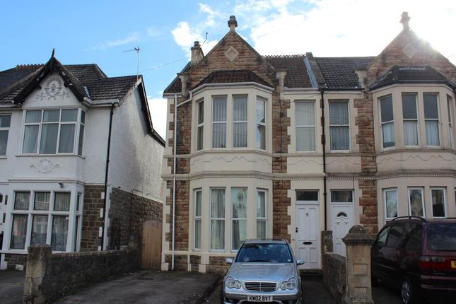 Thumbnail Flat to rent in Nithsdale Road, Weston-Super-Mare, North Somerset