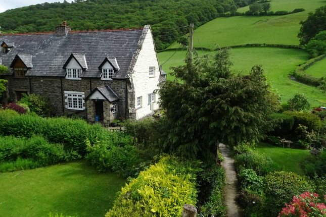 Thumbnail Semi-detached house for sale in Llawryglyn, Caersws, Powys