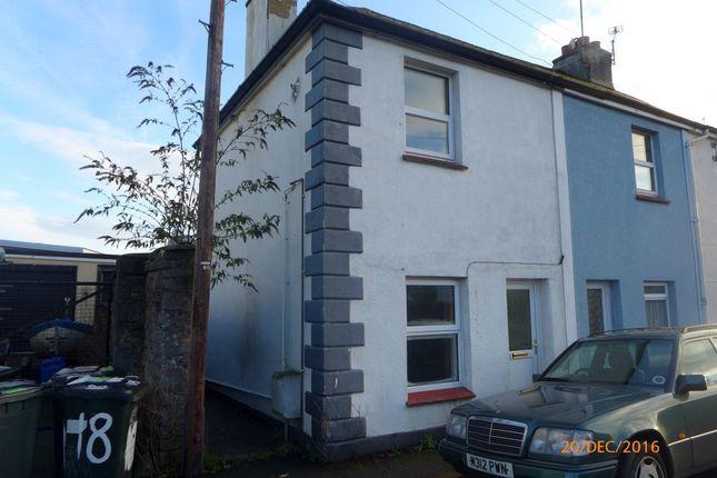 Thumbnail End terrace house to rent in Wain Lane, Newton Abbot
