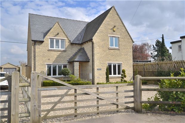 Thumbnail Detached house for sale in The Willows, Gretton Fields, Gretton, Cheltenham, Gloucestershire
