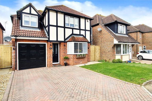 Thumbnail Detached house for sale in Barwick Close, Rustington, West Sussex