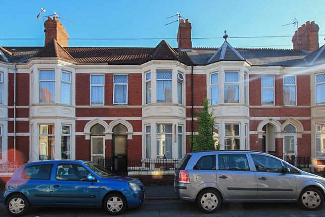Thumbnail Terraced house to rent in Hanover Street, Canton, Cardiff