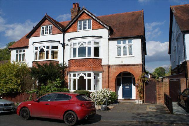 Thumbnail Semi-detached house for sale in Curzon Road, Weybridge, Surrey