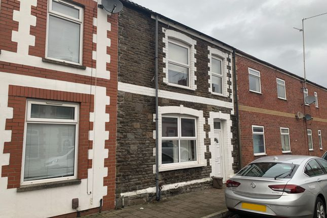 Thumbnail Terraced house to rent in Pearl Street, Cardiff