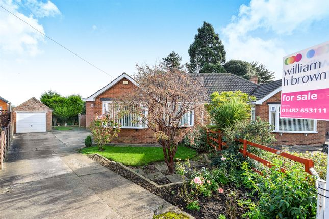 Thumbnail Semi-detached bungalow for sale in Four Acre Close, Kirk Ella, Hull