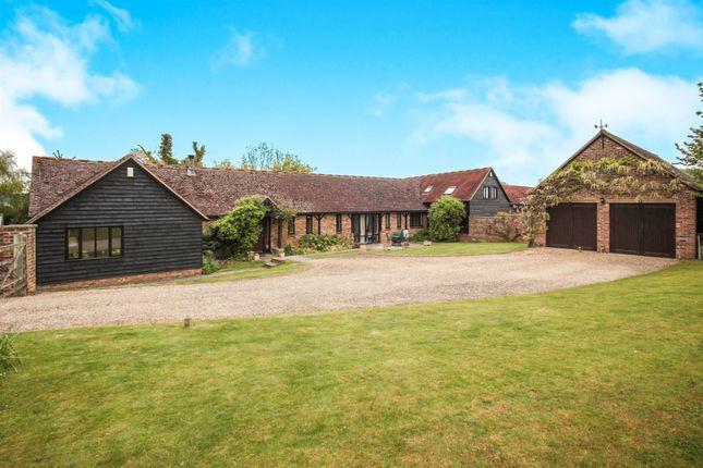 Thumbnail Barn conversion for sale in West End Farm, Long Marston Road, Cheddington