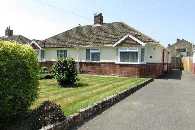 Thumbnail Semi Detached Bungalow For Sale In Fareham Road Gosport