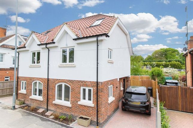 Thumbnail End terrace house to rent in Station Road, Chigwell