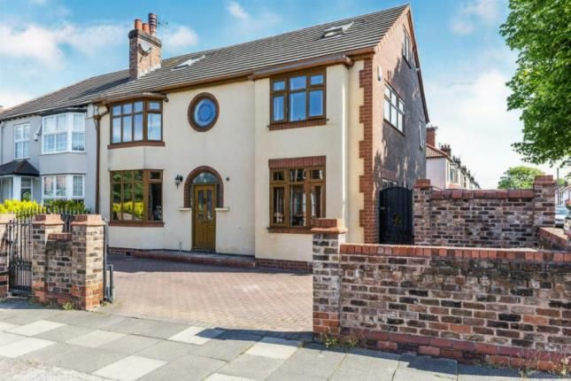 Thumbnail Semi-detached house for sale in Manor Road, Crosby, Liverpool, Merseyside