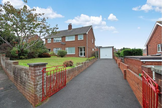 Thumbnail Semi-detached house for sale in Berkshire Drive, St. Thomas, Exeter