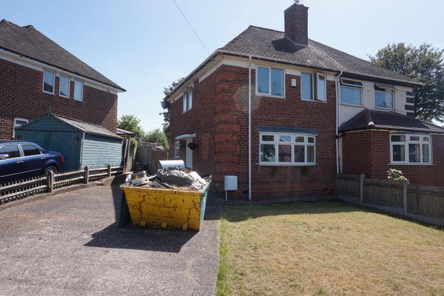 Thumbnail Semi-detached house for sale in Endmoor Grove, Erdington, Birmingham