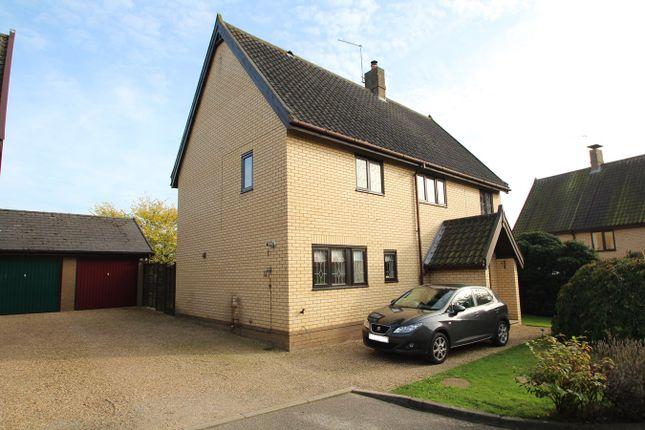 Thumbnail Detached house for sale in School Meadow, Wetherden, Stowmarket