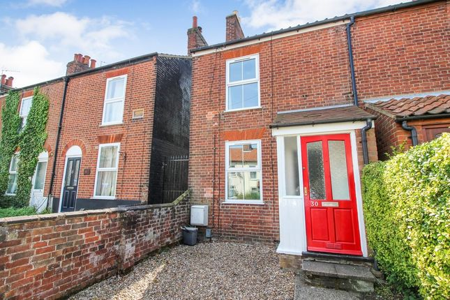 Thumbnail End terrace house for sale in Lawson Road, Norwich