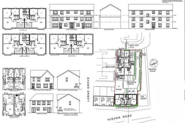 Thumbnail Land for sale in Higher Road, Urmston, Manchester