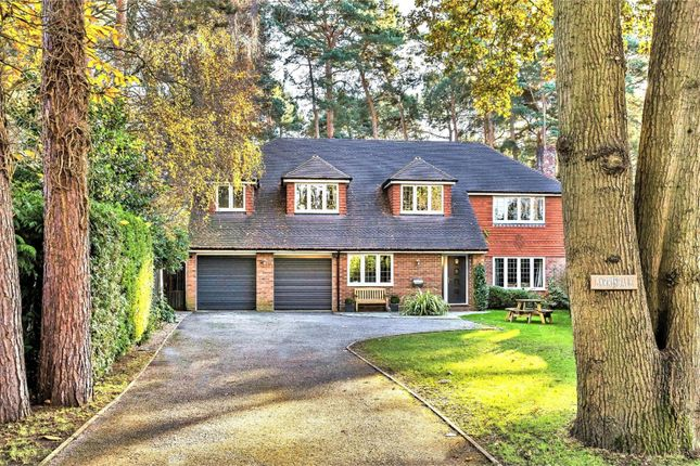 Thumbnail Detached house for sale in Heathdown Road, Pyrford, Woking