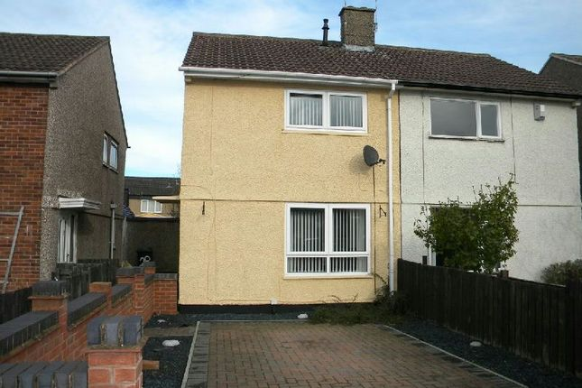 Thumbnail Semi-detached house to rent in Twickenham Road, Glen Parva, Leicester