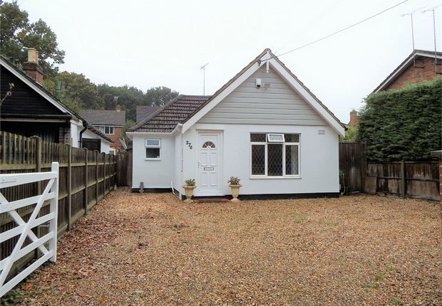 Thumbnail Detached bungalow for sale in Fernhill Road, Farnborough, Hampshire