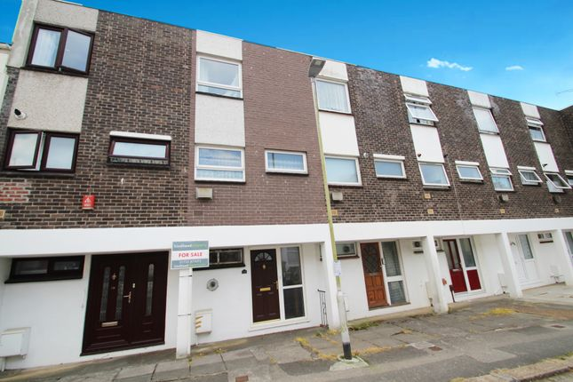 Thumbnail Town house for sale in College Road, Plymouth