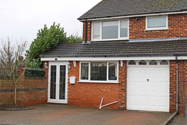Thumbnail Semi-detached house for sale in Francis Close, Polesworth, Tamworth, Warwickshire
