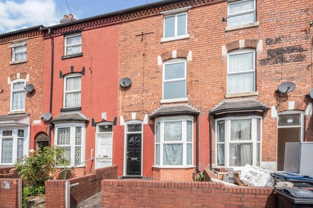 Thumbnail Terraced house for sale in Hutton Road, Handsworth, Birmingham