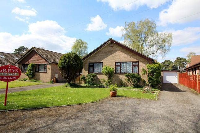 Thumbnail Detached bungalow for sale in Heatherdell, Upton, Poole