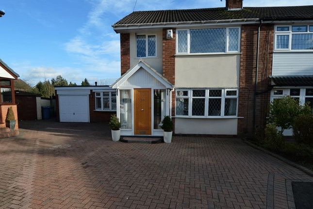 Thumbnail Semi-detached house for sale in Thurston Close, Unsworth, Bury